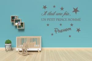 """Stickers Prénom """"Petit Prince"""""""