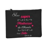 """Trousse """"Super Maitresse"""" personnalisé"""