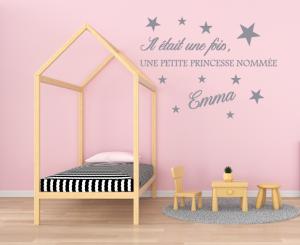 "Stickers Prénom ""Petite Princesse"""