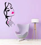 Stickers Visage Femme